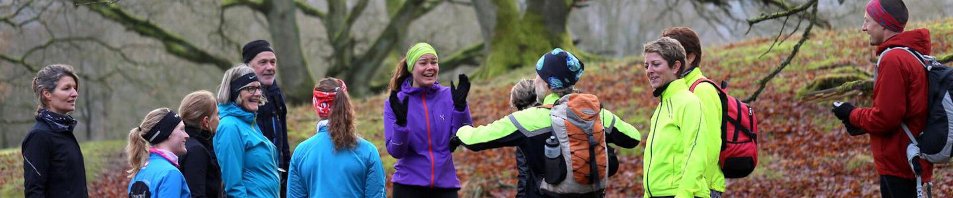 Naturforsamlingshus - løb og mindfullness top