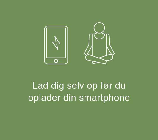 Grafik: Lad dig selv op før du oplader din smartphone
